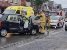 Gewonde naar ziekenhuis na botsing in Hengelo