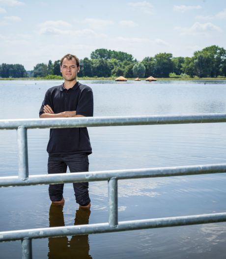 Hoogwater in de IJssel zorgt voor 'wrang succes'  kunstproject Camping Zondvloed