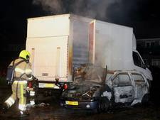 Auto's door brand vernield in Culemborg