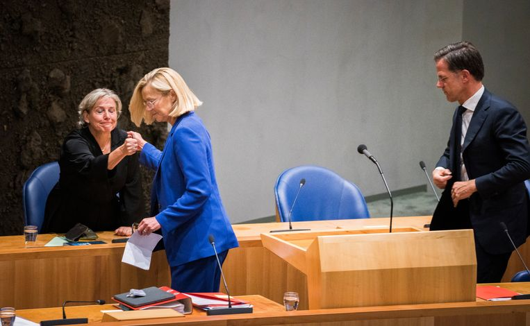 Door het opstappen van Sigrid Kaag en Ank Bijleveld evenaart Rutte III het record van Lubbers III, met tien bewindslieden die voortijdig ontslag namen. Beeld Freek van den Bergh