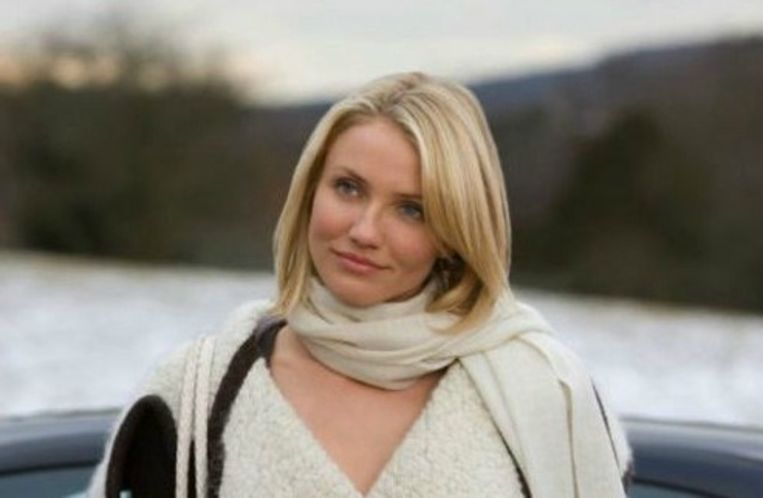 Cameron Diaz in 'The Holiday' Beeld rv