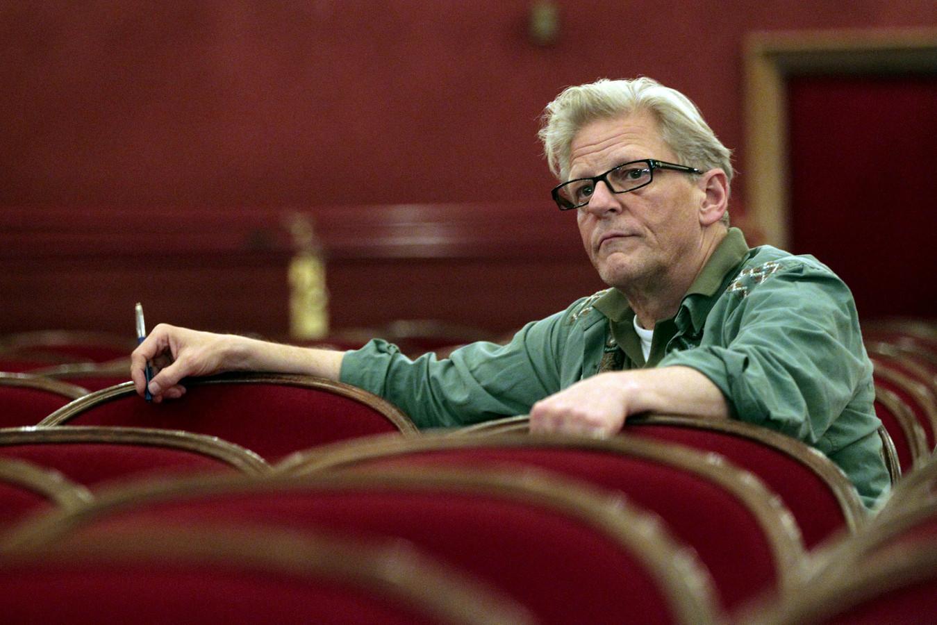 Jan Fabre, à Vienne, en 2012