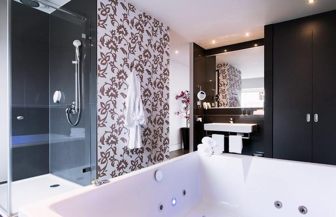 De kamer met jacuzzi in Amersfoort.