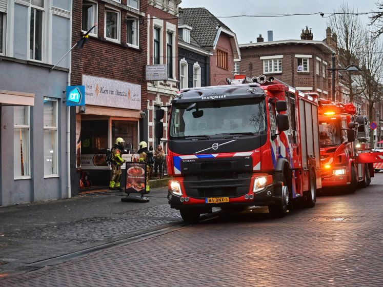 Brand in Syrisch restaurant in Breda snel geblust door eigenaar