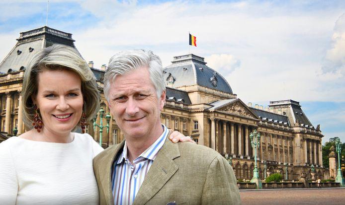 """Le Palais de Royal de Bruxelles, le """"bureau du souverain"""", est ouvert au public jusqu'au 29 août inclus."""