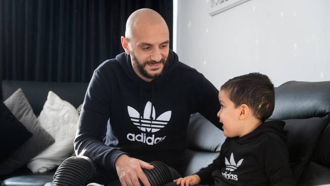 FC Eindhoven-zaalvoetballer Saadouni heeft thuis een kleine man met een leeuwenhart