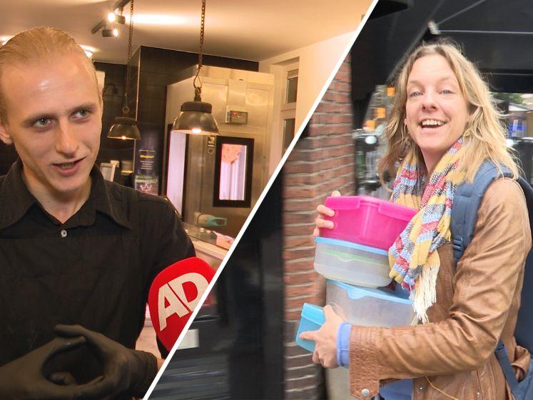 Verpakkingsvrij boodschappen doen rukt op: 'Komt een klant met een lege pan? Prima!'