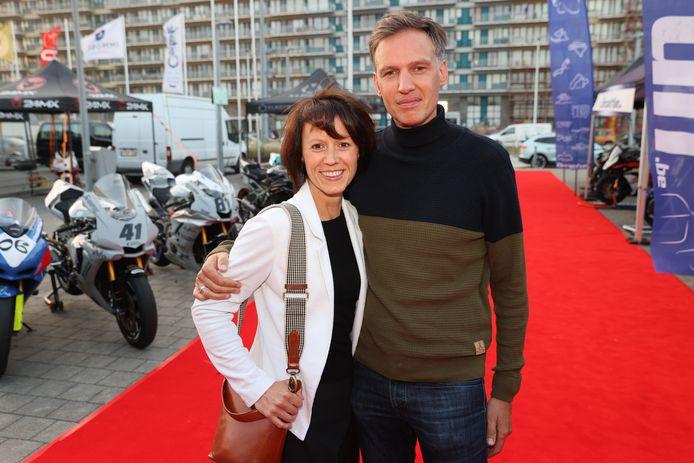 'Wittekerke'-actrice Margot Neyskens was ook van de partij, samen met haar echtgenoot Steven.
