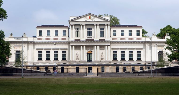 Het provinciehuis van Noord-Holland in Haarlem. Beeld ANP
