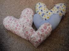 Hartkussens voor borstkankerpatiënten van verpleeghuis in Gorinchem zijn in trek