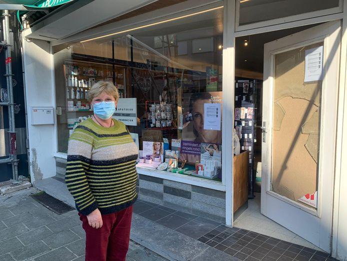 Apothekeres Nadine Willaert getuigde in maart nog over de inbraak in haar apotheek. Iemand ging aan de haal met kleingeld en verdovende middelen. Het bleek veelpleger Diego V.