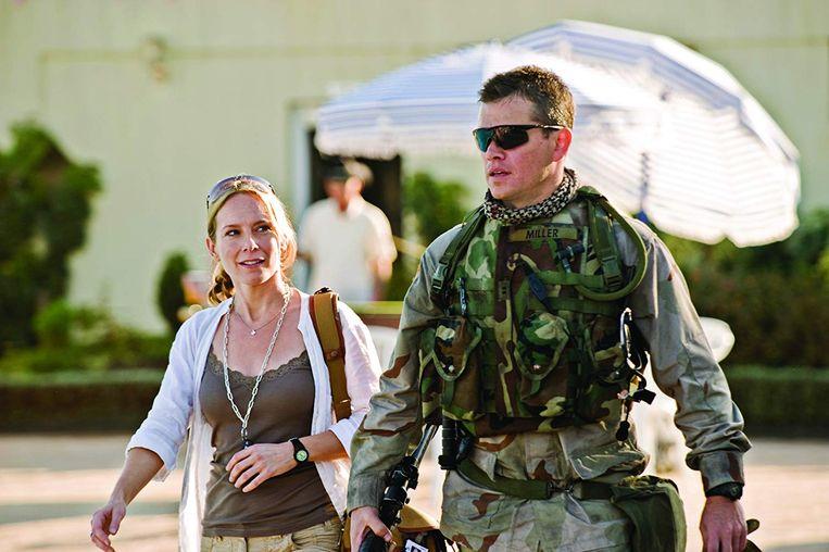 Amy Ryan en Matt Damon in 'Green Zone' van Paul Greengrass. Beeld