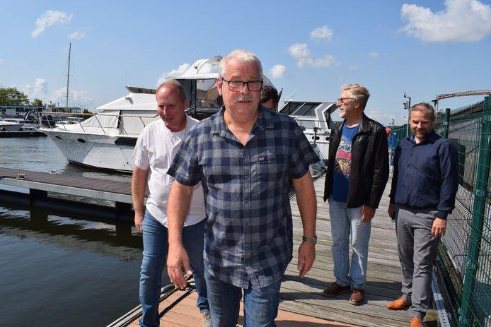 Professor-Kapitein Kris De Baere in de Zelzaatse jachthaven.