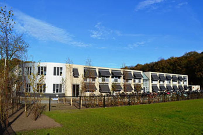 Zowel op de locatie in Harderwijk (foto) als in Zeewolde krijgen havo-leerlingen ook tweetalig onderwijs.