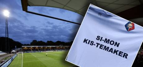 Telstar speelt met naam Simon Kistemaker op shirt