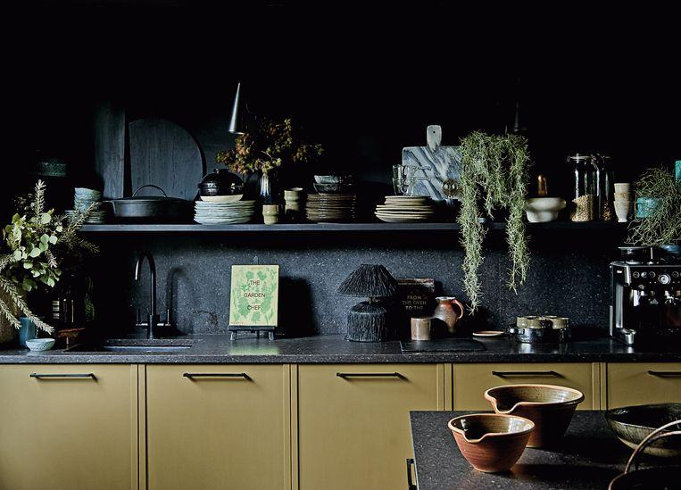 Abigail Ahern: 'Bij maximalisme denkt men aan het huis van oma dat volgestouwd stond met porseleinen beeldjes.'  Beeld RV
