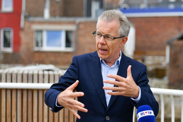 Comeos-CEO Dominique Michel. Beeld BELGA