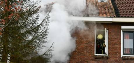 Woningbrand aan de Jasmijnstraat in Enschede