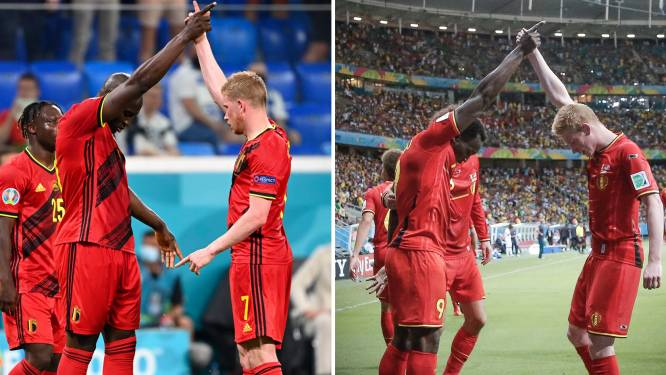 """De 'bromance' tussen gouden duo Lukaku en De Bruyne gaat ver terug: """"Ik kan Kevin álles zeggen"""""""