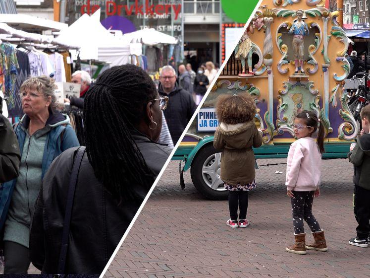 In Middelburg kun je over de koppen lopen: 'Het is té druk'