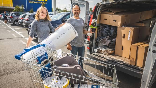 """STUDENT IN GENT. Kotstudenten shoppen Ikea leeg: """"Verdorie, onze bestelwagen zit al vol"""""""