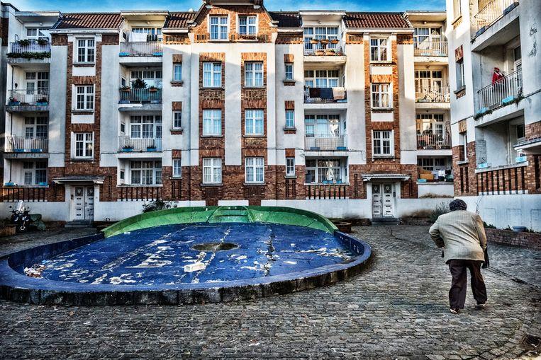 De Brusselse gemeente Molenbeek. Beeld Tim Dirven