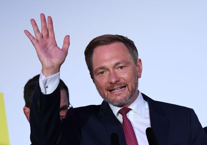 Christian Lindner, Pemimpin Partai Demokrat Liberal Liberal