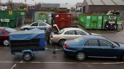 Recyclagepark zaterdag uitzonderlijk gesloten