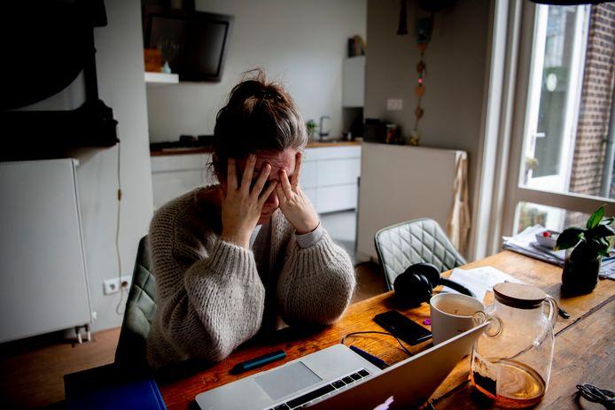 Thuiswerken deed veel werknemers er zowel fysiek als mentaal op achteruitgaan dit jaar.