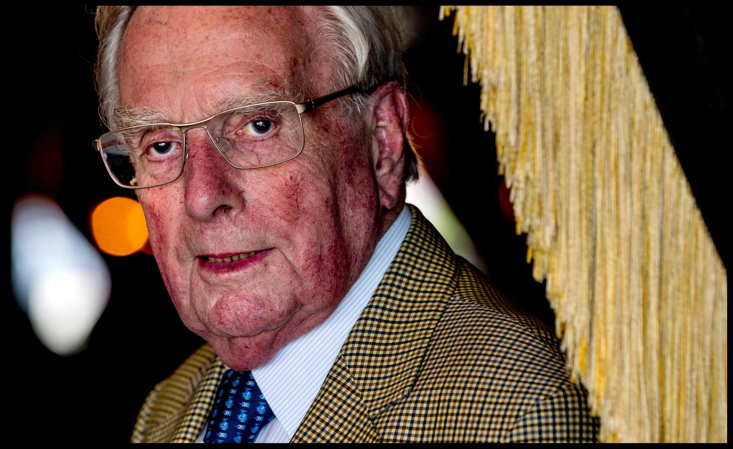 Frits Korthals Altes, minister van Staat en prominent lid van de VVD.