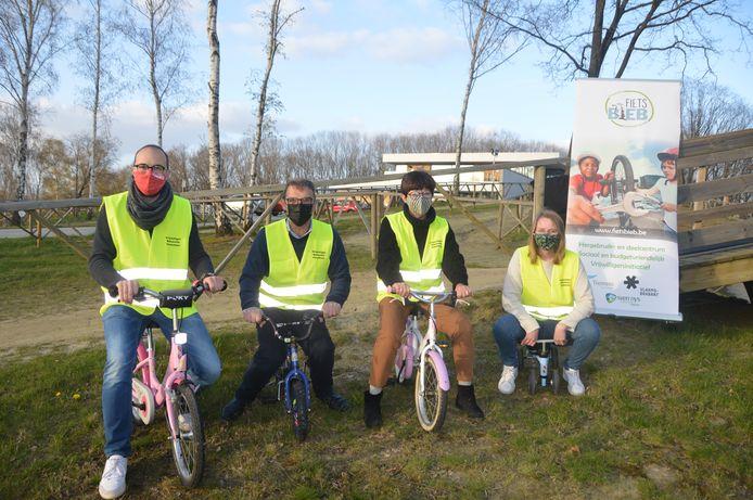 Beweging.net opent een bibliotheek van kinderfietsen in het Sven Nys Cycling Center