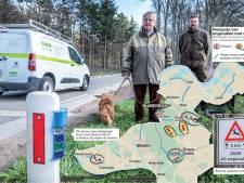Aantal ongevallen in Regio Nijmegen moet omlaag: extra wildspiegels tegen overstekende reeën