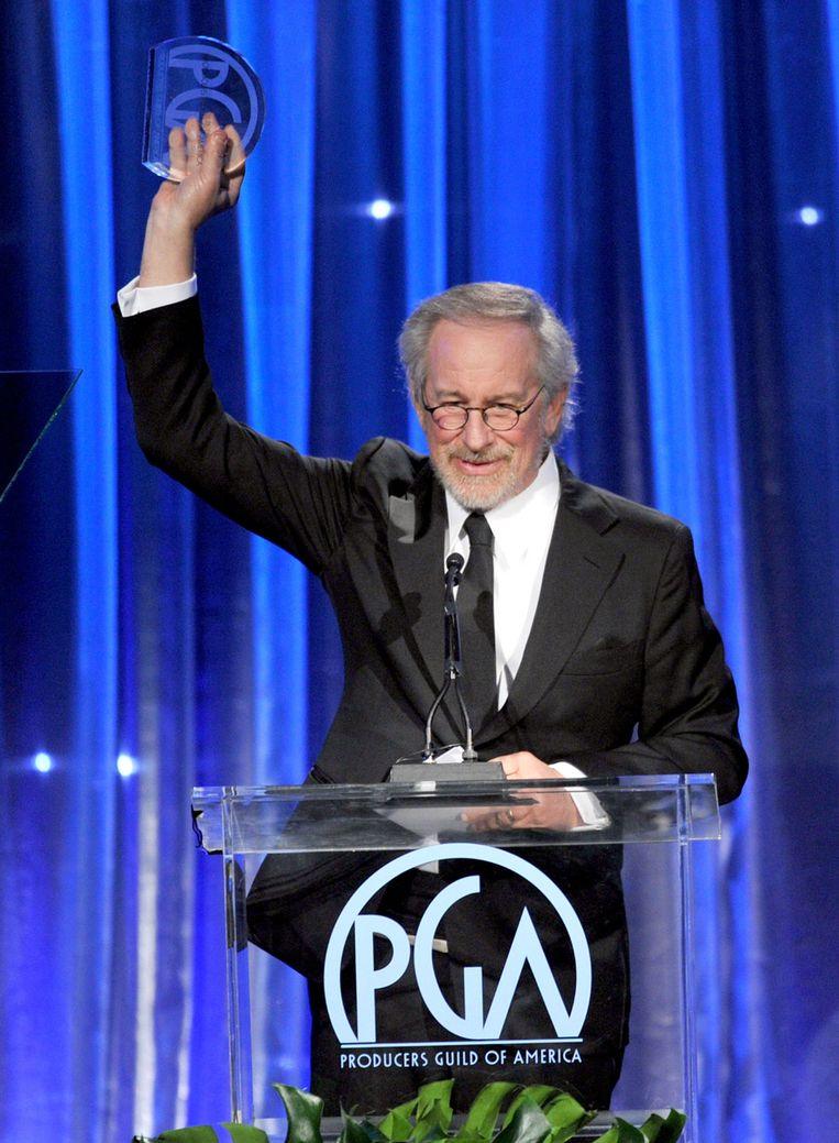 Steven Spielberg kreeg twee awards. Beeld GETTY