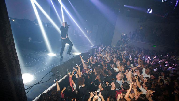 Skepta is op dit moment de man die deze Londense hiphop variant wereldwijd onder de aandacht moet gaan brengen. Beeld Eva Roefs