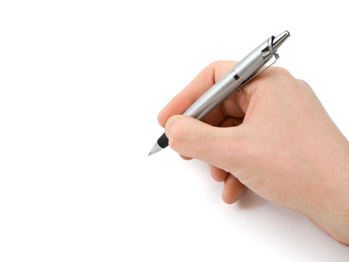 Schrijven om te schrijven? Nee. Soms laat ik me schrijven