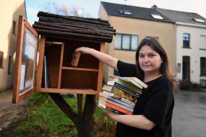 Tanja Seutin is opgelucht dat de boekendief die haar ruilkast teisterde, gevat is.