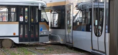 Sept blessés légers dans une collision de trams à Bruxelles