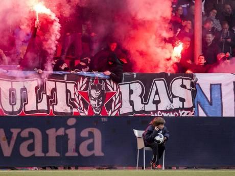 Ook FC Dordrecht in actie voor ballenjongen Jens