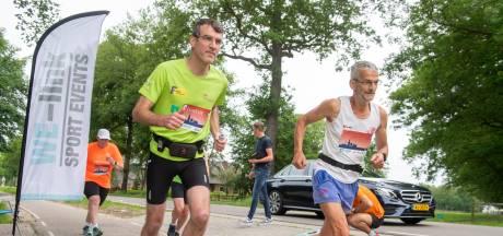 Eíndelijk was er weer een hardloopwedstrijd in Nijkerk: 'Ik probeer met hangen en wurgen te finishen'