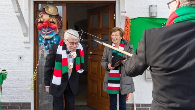 Carnavalsjubilaris Wim Weijmans benoemd tot 'Hofschenker' van vereniging De Kersepit