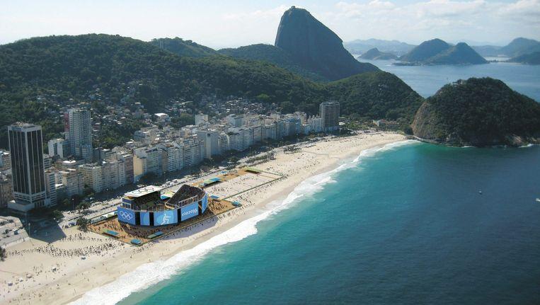 Een sfeerimpressie van de Olympische Spelen in Rio de Janeiro in 2016 Beeld EPA