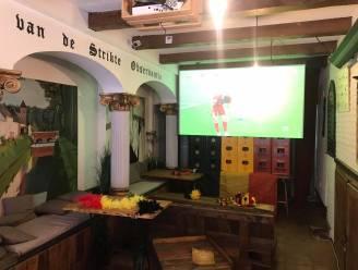 """Supporter voor Rode Duivels als een VIP in de Kloostergang: """"Belgischer kan het niet worden"""""""