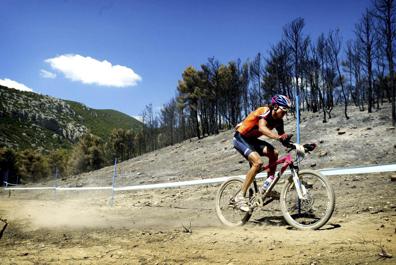 Bart Brentjens won in 2004 ook nog een bronzen medaille op de spelen in Athene.