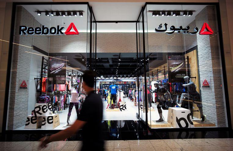 Een winkel van Reebok in Bahrein. Beeld REUTERS