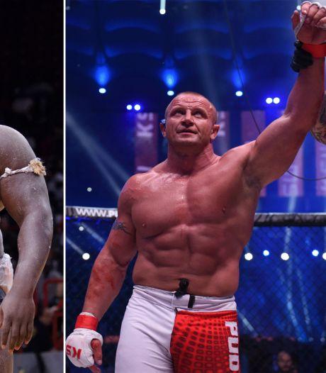 Titanenstrijd tussen sterkste man en 140 kilo wegende Senegalese reus