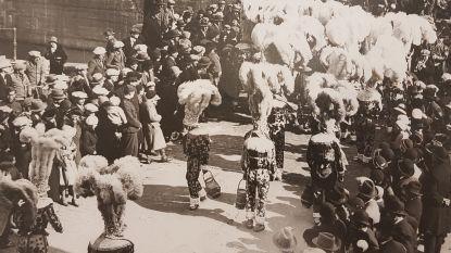CARNAVAL HALLE: 1945 – De Gilles van Rebecq stappen mee op in de stoet
