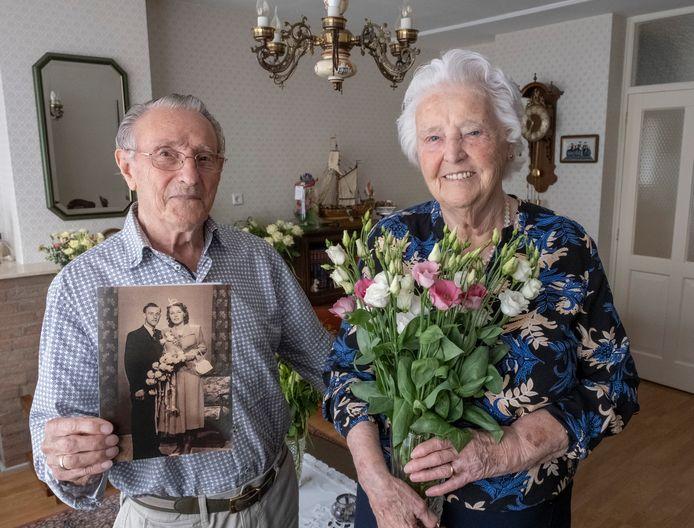 Georg en Tannetje Jacobse kunnen na zeventig jaar nog geen dag zonder elkaar.