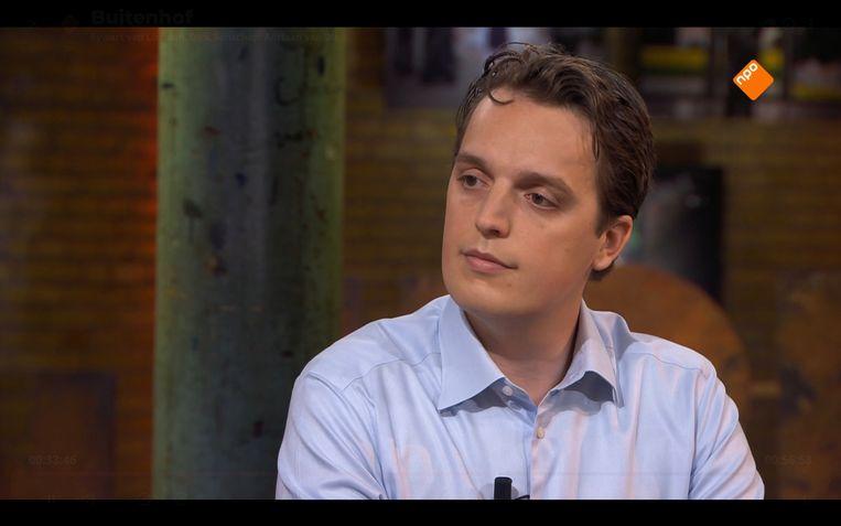 Sywert van Lienden vorige week bij Buitenhof.  Beeld