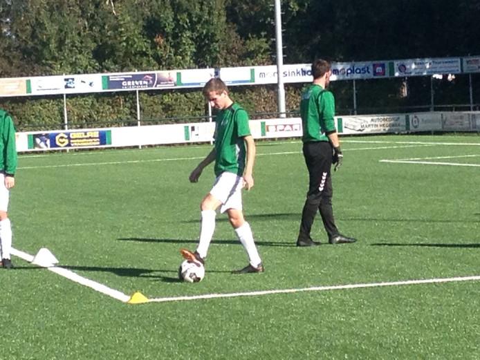 Jouke Knippenborg de matchwinnaar bij RKZVC