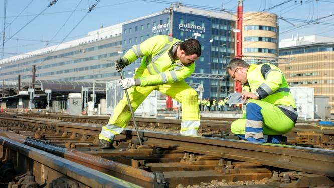 Infrabel wil deel van Brussels spoorverkeer maand lamleggen